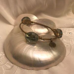Bourbon & Bowties Bracelet Topaz/Gold